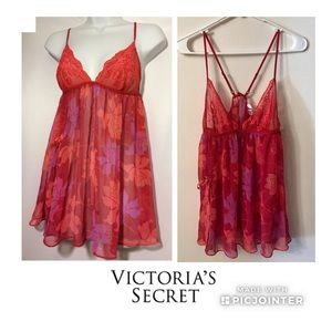 Victoria's Secret Very Sexy Babydoll Chemise Large